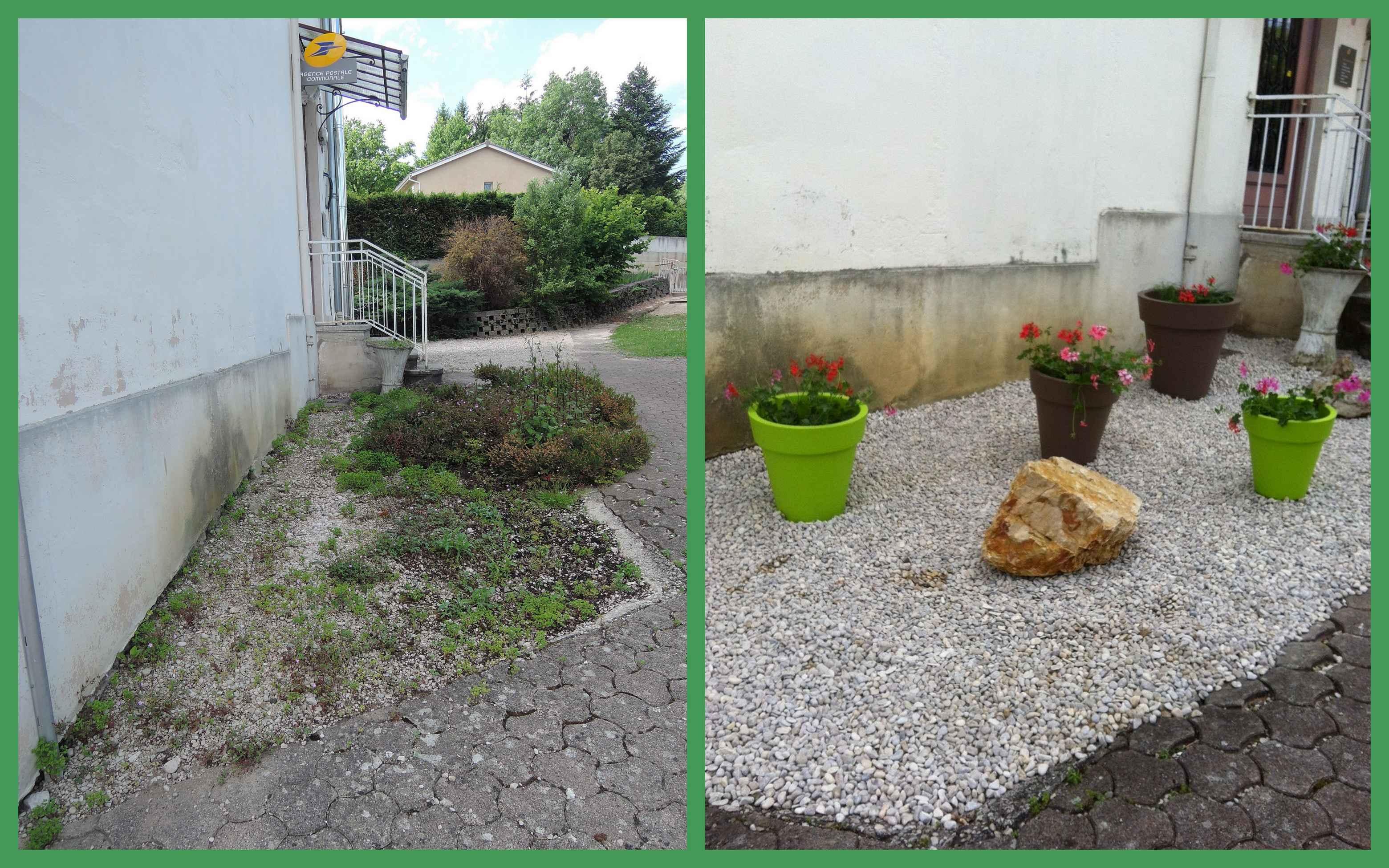 Plantation des fleurs en mairie for Plantation de fleurs