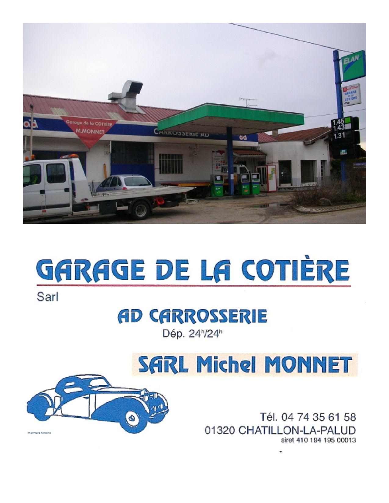 Garage de la cotiere for Horaire garage ad